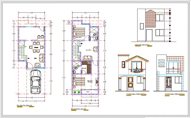 Duplex House Plan