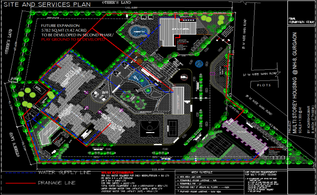 Multistory housing projects dwg