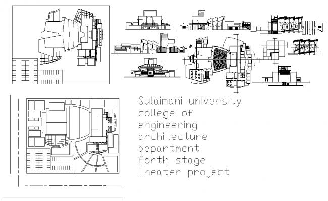 Multiplex Theater design