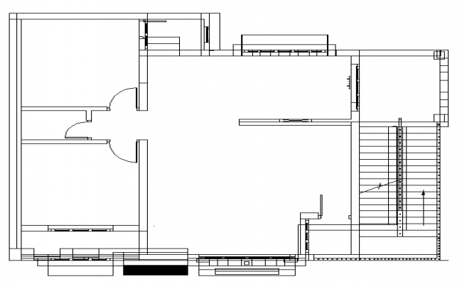 Simple Line House Lay-out design
