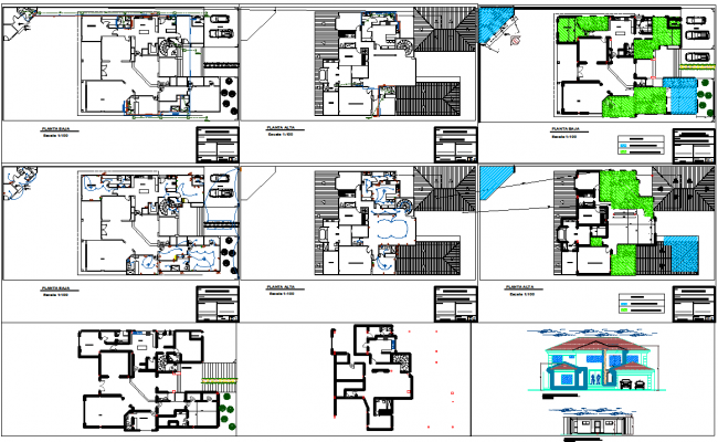 Residence villa projects
