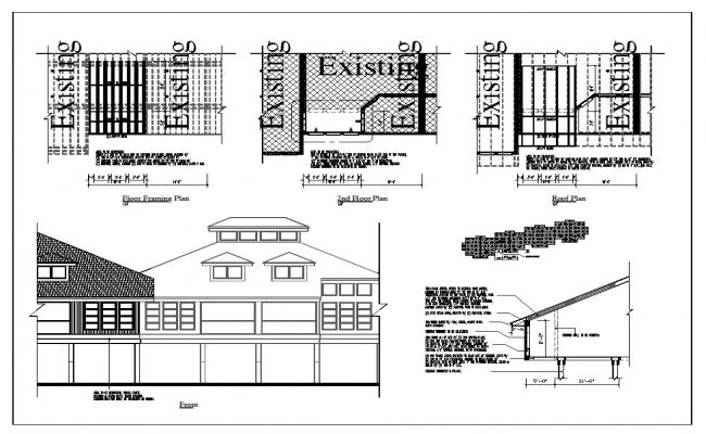 House Section Detail Project