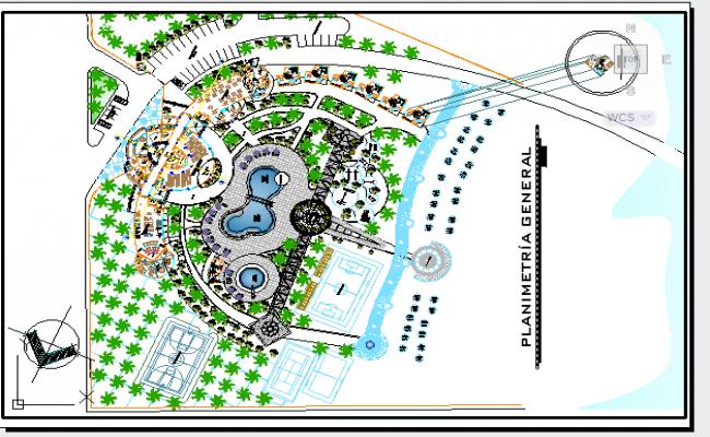 Hotel layout design