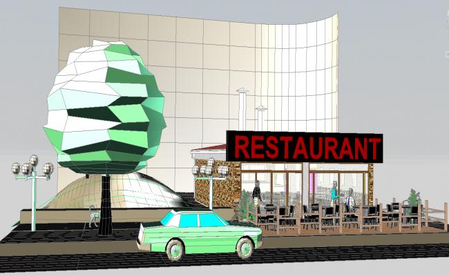 3d Restaurant