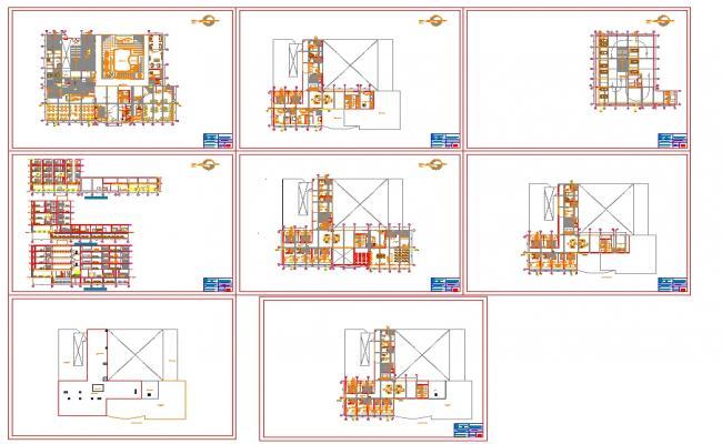 Rotation type Hotel plan