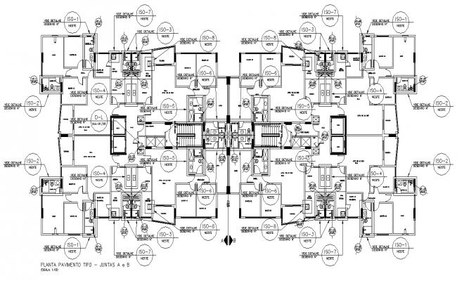 4BHk Luxury Ground floor Twin  House plan AutoCAD DWG file.