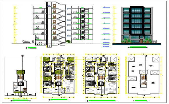 Apartments drawing