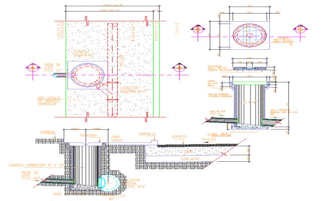 Drainage Connection Design