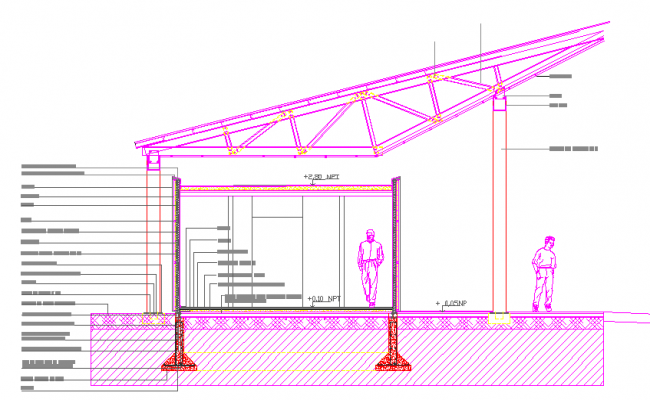 Steel Framing Detail