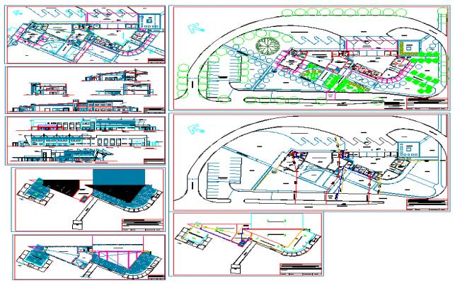 Bus Turminal  Design plan