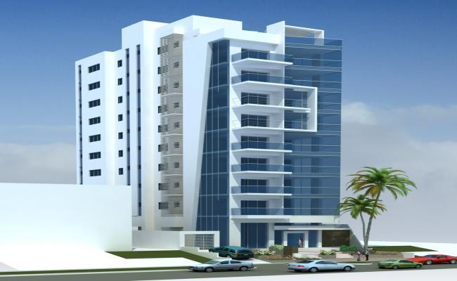 3d Corporate Building