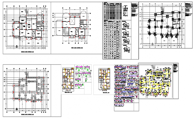 Bungalow,Planning,Footing,Beam,Structure,Foundation,section