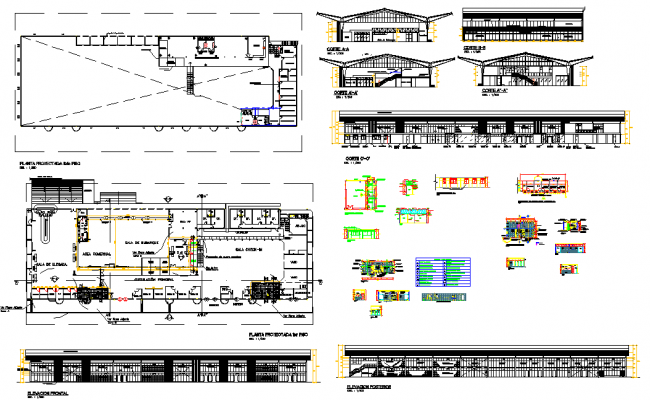 Airport plans and design dwg