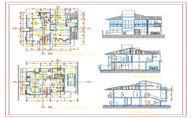 Simple Duplex House