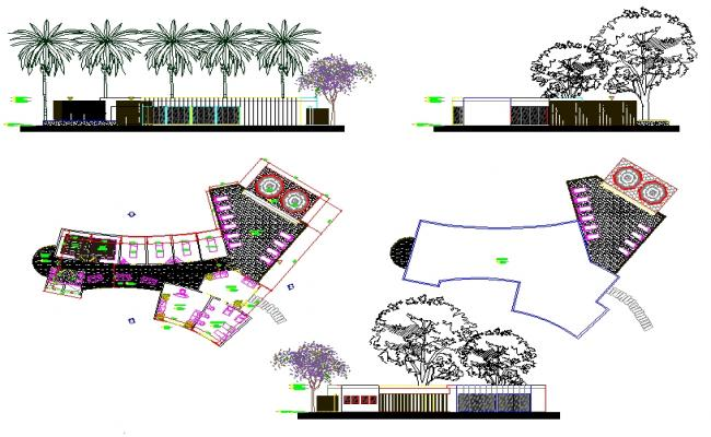 Spa Centre Detail plan