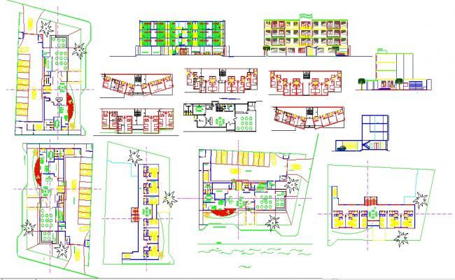 Beach Hotel Plan