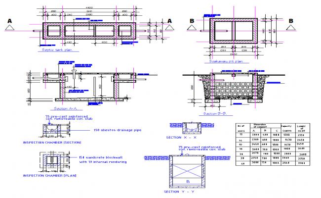 Septic Tank Structure Design