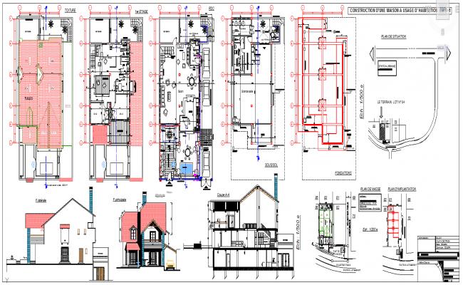 Villas Design Plan