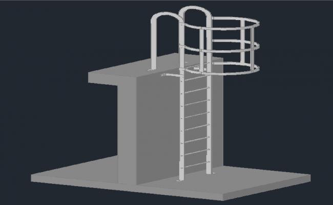 3D Stair Detail