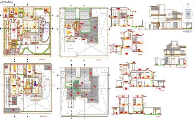 Urban House plan Detail