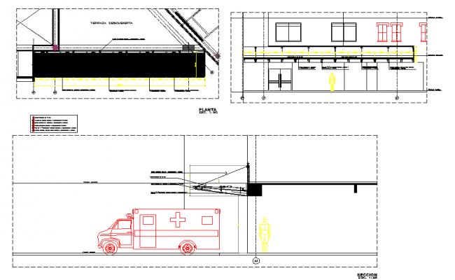 Hospital Ambulance detail