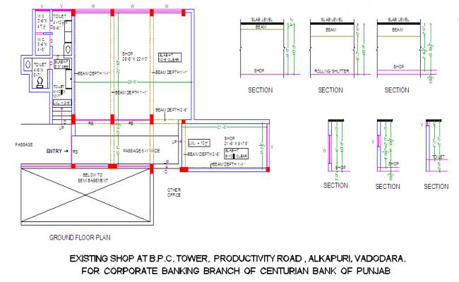 Structure Beam Design