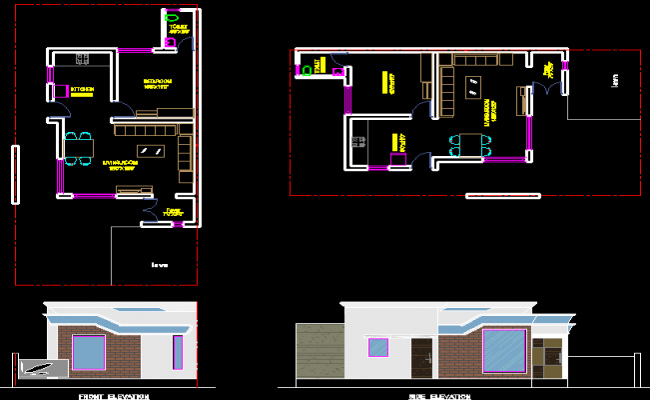Single House plan
