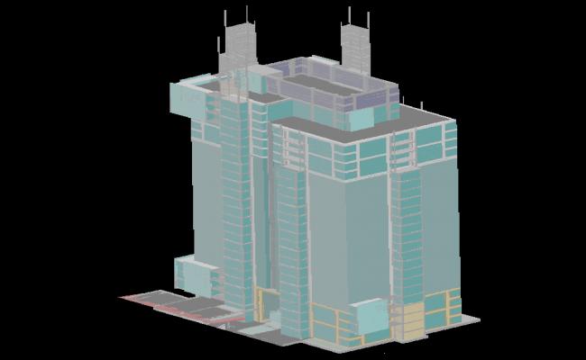 3d Building Tower