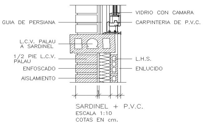 sc 1 st  Cadbull & detail drawing of window