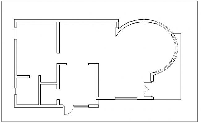 Shimple house line lay-out