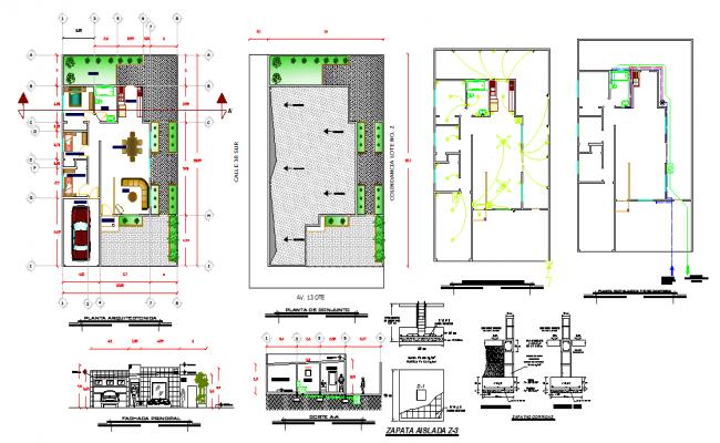 Residential House Detail