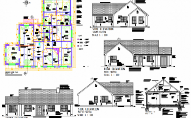 Family House plan