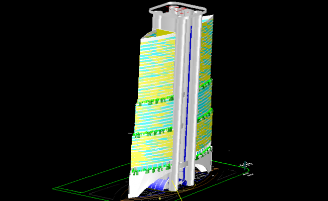 3d Highrise Hotel