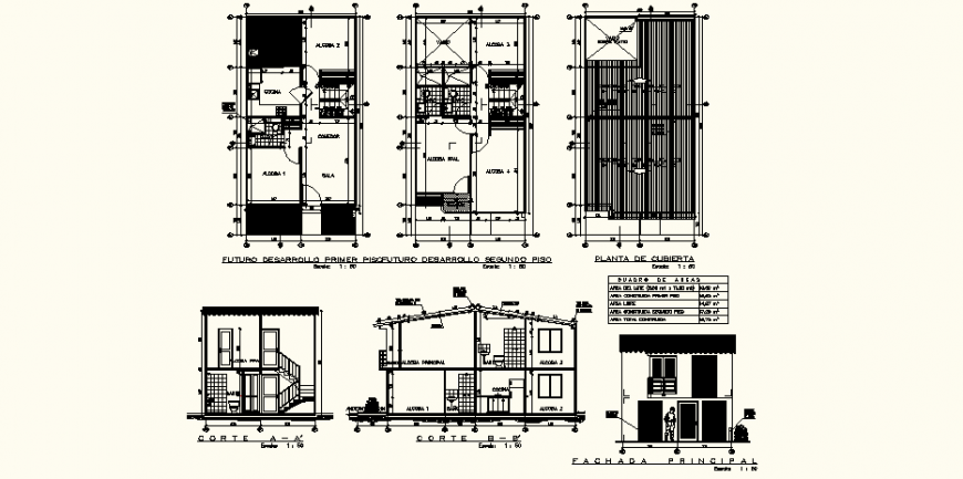 5bhk house detail drawing in dwg AutoCAD file.