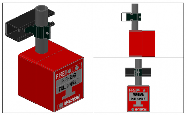 3D Fire Alarm Button