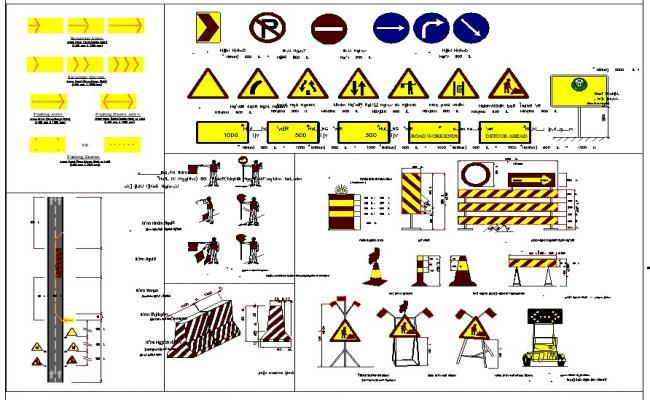 Construction symbol detail