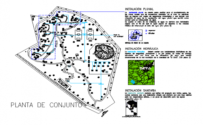Ecotourism center Detail