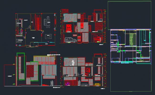 6 bedroom - 1 family housing