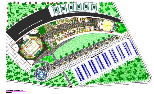 shopping mall floor plan dwg