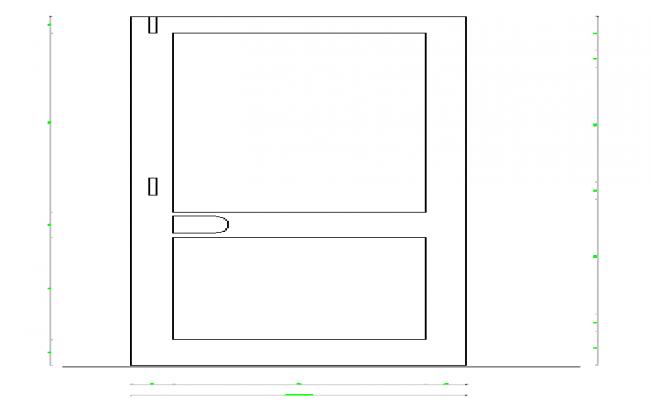 Door Block Design
