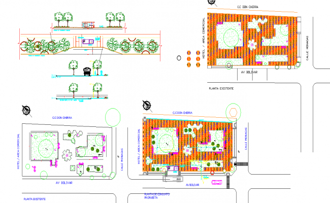 Garden Design DWG