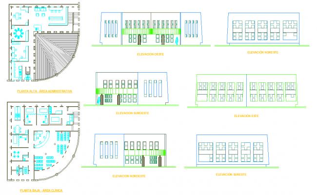 Simple  Clinic detail plan