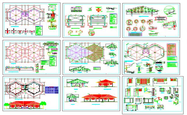 collage plan design