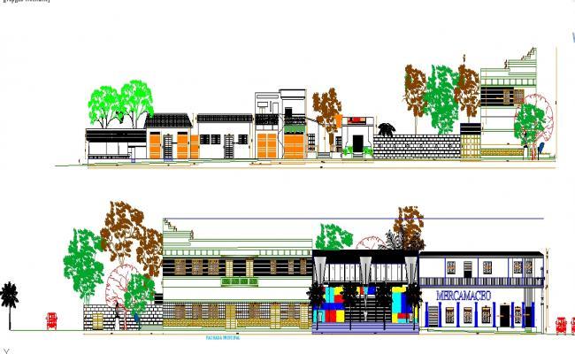 Auditorium detail plan