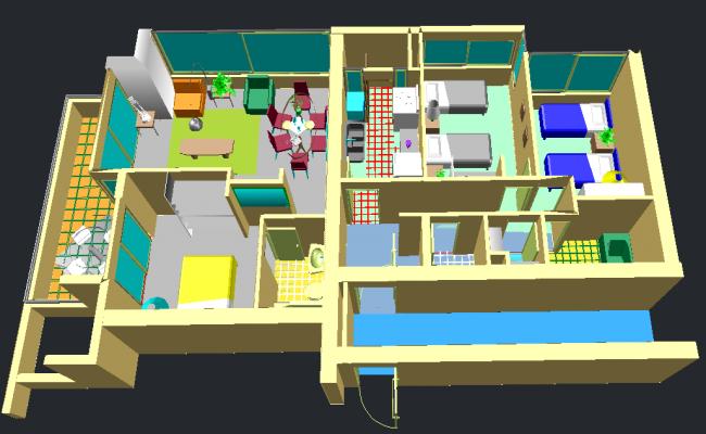 Apartment--Interior view Design
