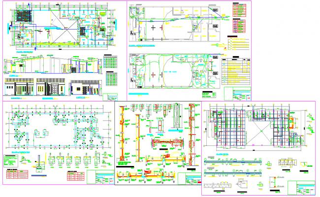 Commercial Complex Detail