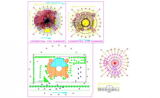 Hospital-circular plan design