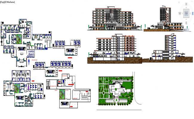 General Hospital 120 beds Storeys