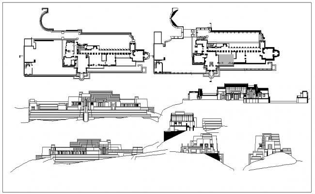 Ennis house plans