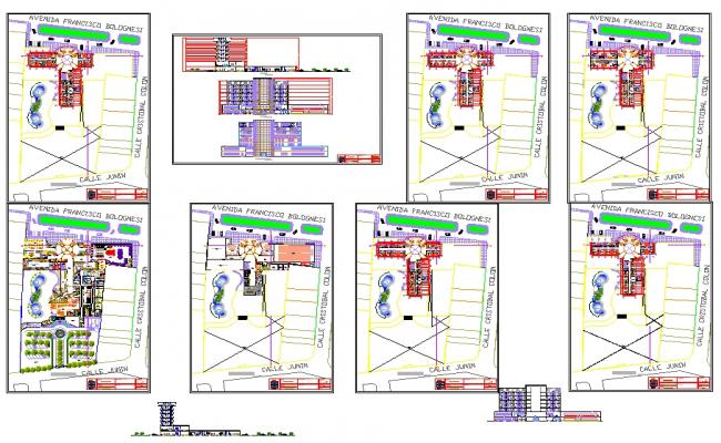 5 Star Hotel plan Download file